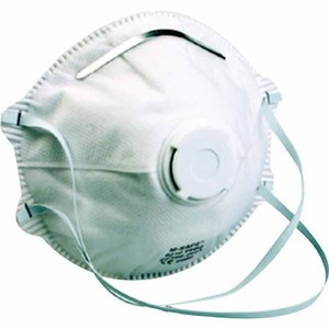 2 x M-Safe Mondmasker 6210 , FFP2 met uitademventiel