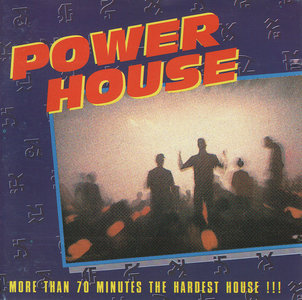 Power House - More Than 70 Minutes The Hardest House (CD)