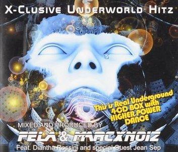 Fela & Marcxnoiz - X-Clusive Underground Hitz (4CD)