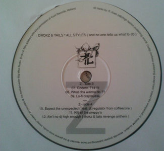 "Drokz & Tails - All Styles (And No One Tells Us What To Do) (2x12"")"