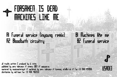 Forsaken Is Dead - Machines Like Me