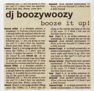 Boozywoozy - Booze It Up!